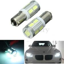2Pcs BAX9S H6W 10 SMD LED Xenon White Sidelight Bulbs For BMW 3 Series F30 F31