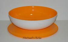 Tupperware Servierschale Allegra 3,5 Lit Orange/Weiss