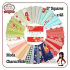 Miss Kate Moda Charm Pack Squares Quilt Fabric cotton quilting fabrics vintage