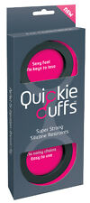 QUICKIE CUFFS HANDCUFFS MEDIUM Soft NO MARKS Police Party Fun Cuffs Sex Aid