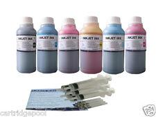 Refill ink kit for HP 02 PhotoSmart C8150 8250 3210V  6X250ML/S