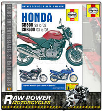 Honda Cb500 (93 a 02) & Cbf500 (7 a 08) Haynes Manual (3753)
