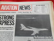 EARLY INTERNATIONAL AVIATION NEWS V1 #11 FOKKER D VIII HAWKER HUNTER T7 PIPER