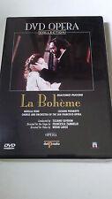 """DVD """"PUCCINI LA BOHEME"""" COMO NUEVO LUCIANO PAVAROTTI MIRELLA FRENI TIZIANO SEVER"""