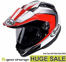 "Arai Tour X4 ""Flare Red"" (Size Medium) Was £499.99 - Now £349.99 (30% OFF)"