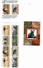 1994  Koala/Kangaroo Wildlife Booklet - 10 x 45c P&S MUH