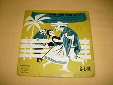 Deno Destero Et Son Grand Orchestre Typique – Cha Cha Cha N°4 7'' 45 RPM EP