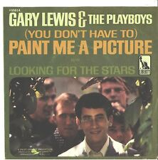 GARY LEWIS/PLAYBOYS--PICTURE SLEEVE ONLY--(U DON'T HAVE TO PAINT ME A PICTURE)PS