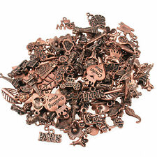 75g Gorgeous Mixed Charms - Copper Colour Beads For Jewellery Making And Crafts