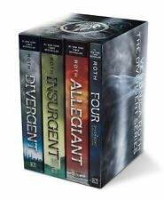 Divergent: Divergent Series Four-Book Paperback Box Set by Veronica Roth...