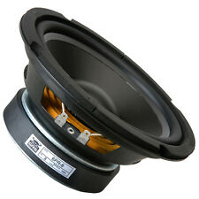 "GRS 6PR-8 6.5"" Poly Cone Rubber Surround Woofer Speaker 8ohm 85W 85dB 1.5"" Coil"