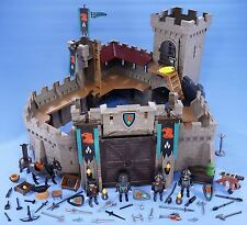 PLAYMOBIL EAGLE KNIGHT EMPIRE CASTLE WITH KNIGHTS HORSE EXTRA WEAPONS 4866