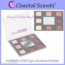 NEW Coastal Scents STYLE EYES-FORMAL EYES Shadow Palette w/Mirror FREE SHIPPING