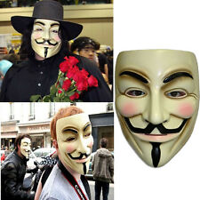 Funny V for Vendetta Anonymous Film Guy Fawkes Face Mask Fancy Halloween Cosplay
