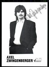 Axel Zwingenberger Autogrammkarte Original Signiert ## BC 18733