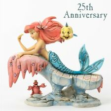 Disney Traditions The Little Mermaid 25th Anniversary Resin Statue New