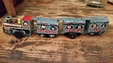 Genuine 1960s Vintage Marx Flintstones Bedrock Express Tin Friction Toy Train