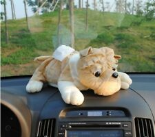 Fashion Lovely Plush Car Tissue Box Cover Cartoon Shar Pei Napkin Holders