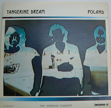 TANGERINE DREAM POLAND THE WARSAW CONCERT TONPRESS RECORDS  (f591)