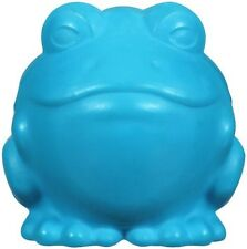 JW Pet DARWIN THE FROG Dog Chew Fetch Squeaky Durable Rubber Toy LARGE 4-inch