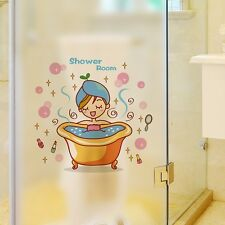 Sticker for Shower Room Wall  Stick it on glass...