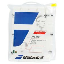 30 PACK di Babolat Pro Tour TENNIS OVERGRIP GRIP, anche bianco per Padel Tennis