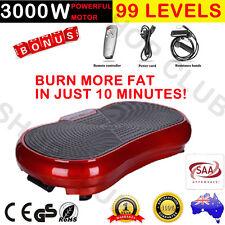 3000W 2017 Ultra Slim Vibration Machine Plate Platform Whole Body Shape Exercise