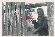 Foto, Luftwaffe, Aufklärer, 3.(H)/12, junge schöne Polin, Ruda, Polen