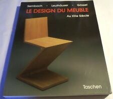 Le Design Du Meuble by Klaus-Jurgen Sembach 1989
