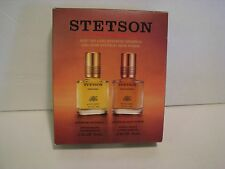 Coty Stetson Original & Rich suede   After Shave 2 pc. Gift Set