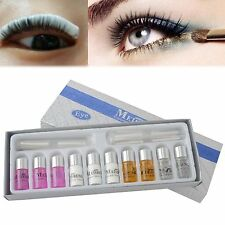Makeup Lady Eyelash Curling Perming Curler Eyelash Wave Lotion Eye Rod Glue Set