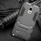 Heavy Duty Shockproof Dural Slim Armor Case with Stand for Samsung Galaxy Note 4