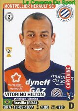 273 VITORINO HILTON # MONTPELLIER.HSC SERVETTE GENEVE STICKER PANINI FOOT 2016