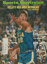 Autographed Bill Walton UCLA Bruins Sports Illustrated 3/6/72  w/COA