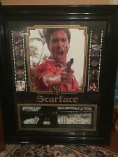 """VINTAGE""""SCARFACE"""" TONY MONTANA LARGE FRAMED SHADOW BOX PICTURE 33X27.5 RARE FIND"""