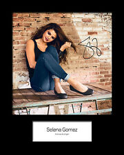 SELENA GOMEZ #3 Signed Photo Print 10x8 Mounted Photo Print - FREE DELIVERY