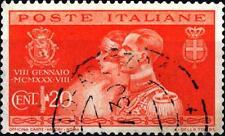 ITALIA - Regno - 1930 - Nozze di Umberto con Maria José del Belgio - 20 cent.