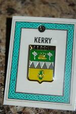 County KERRY Irish PIN LAPEL Coat of Arms - Crest - Clip Badge Brooch - Ireland