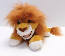 Vintage Simba Lion King Roaring Plush Stuffed Animal Puppet Toy 1993 Authentic