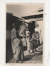 Grace Before Meals Asia ? India Vintage RP Postcard 625a
