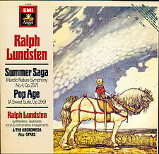 Ralph Lundsten Summer Saga / Pop Age Angel Records S-38108 LP PROMO