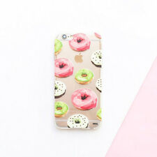 Flower Succulent Overload Food Clear Back Case Cover for iPhone 5 5S 6 6S Plus