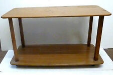 1950's/60's Retro 'Formwood' 2 Tier Coffee Table on Casters