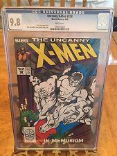 Uncanny X-Men #228 CGC 9.8 white pages