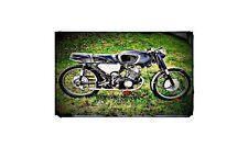 1968 honda cb160 Bike Motorcycle A4 Retro Metal Sign Aluminium