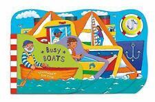Super Sound Books Busy Boats - Crisp, Dan - Board book