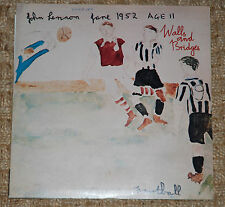 JOHN LENNON Walls And Bridges - 1st Comple1974 VINYL LP Apple PCTC 253 12-tracks