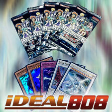 YUGIOH x 1 Legendary Collection 5: 5D's - 5 Mega Packs + Promo Pack Lot Mint