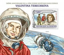 Valentina Terechkova first woman in space s/s Burundi 2013 Sc 1364 #BUR13218b