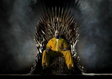 Breaking bad of thrones affiche A3